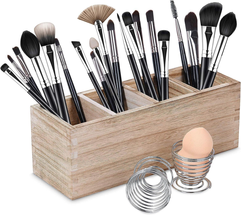 Makeup Storage,Gifts for women,Wood gifts for women,Makeup holder,Brush holder,Make up organizer,Makeup brush holder,Wooden drawer organizer