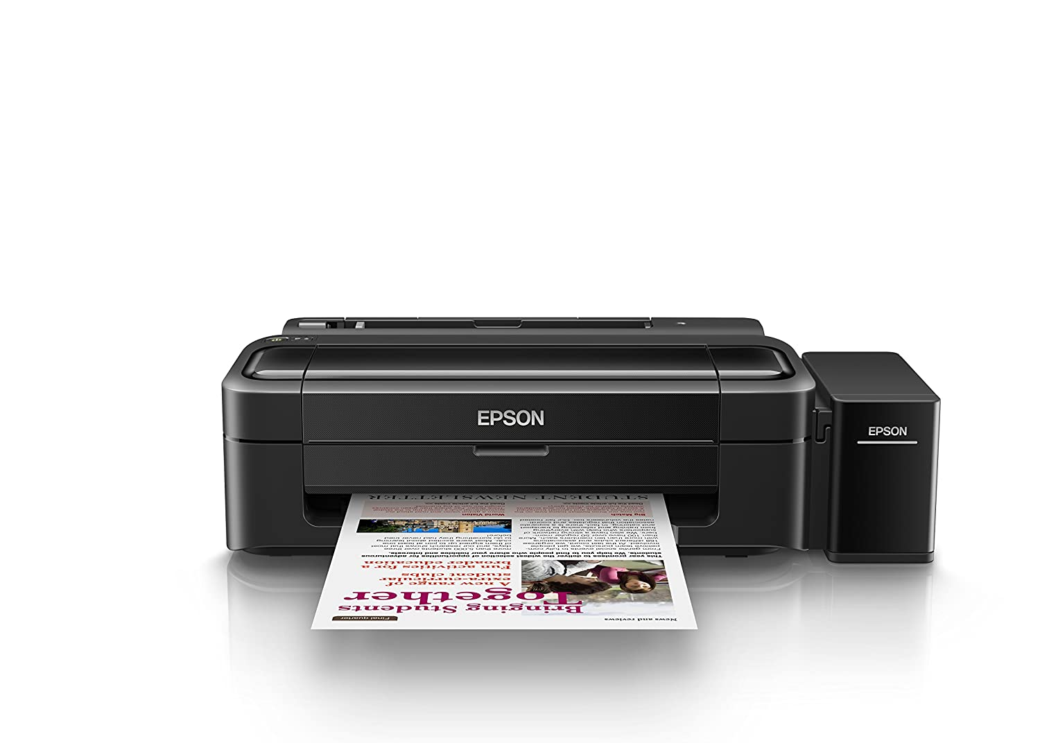 amazon in buy epson l130 single function ink tank colour printer