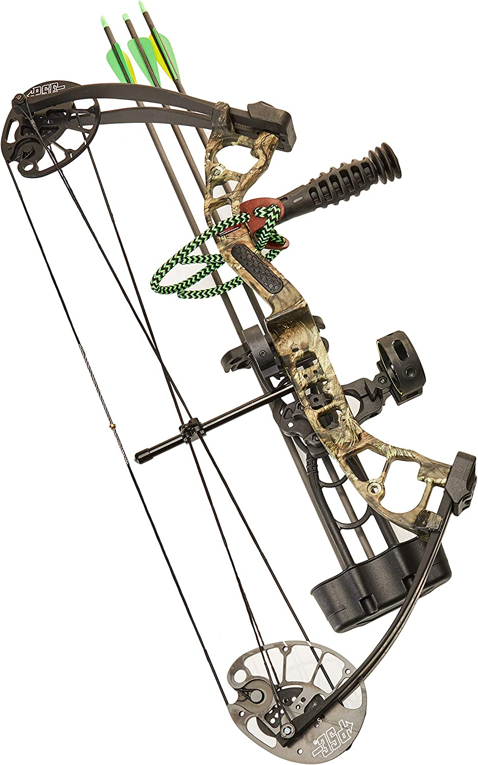 PSE Mini Burner RTS Compound Bow Package RH Mossy Oak Break Up Country 25-40 lb