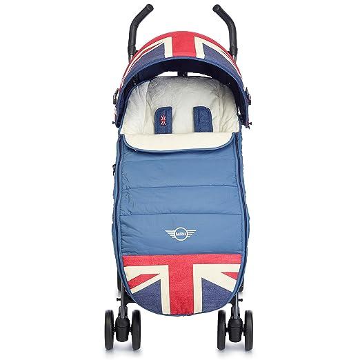 Easywalker - Saco para coche y silla de paseo mini black jack negro: Amazon.es: Bebé