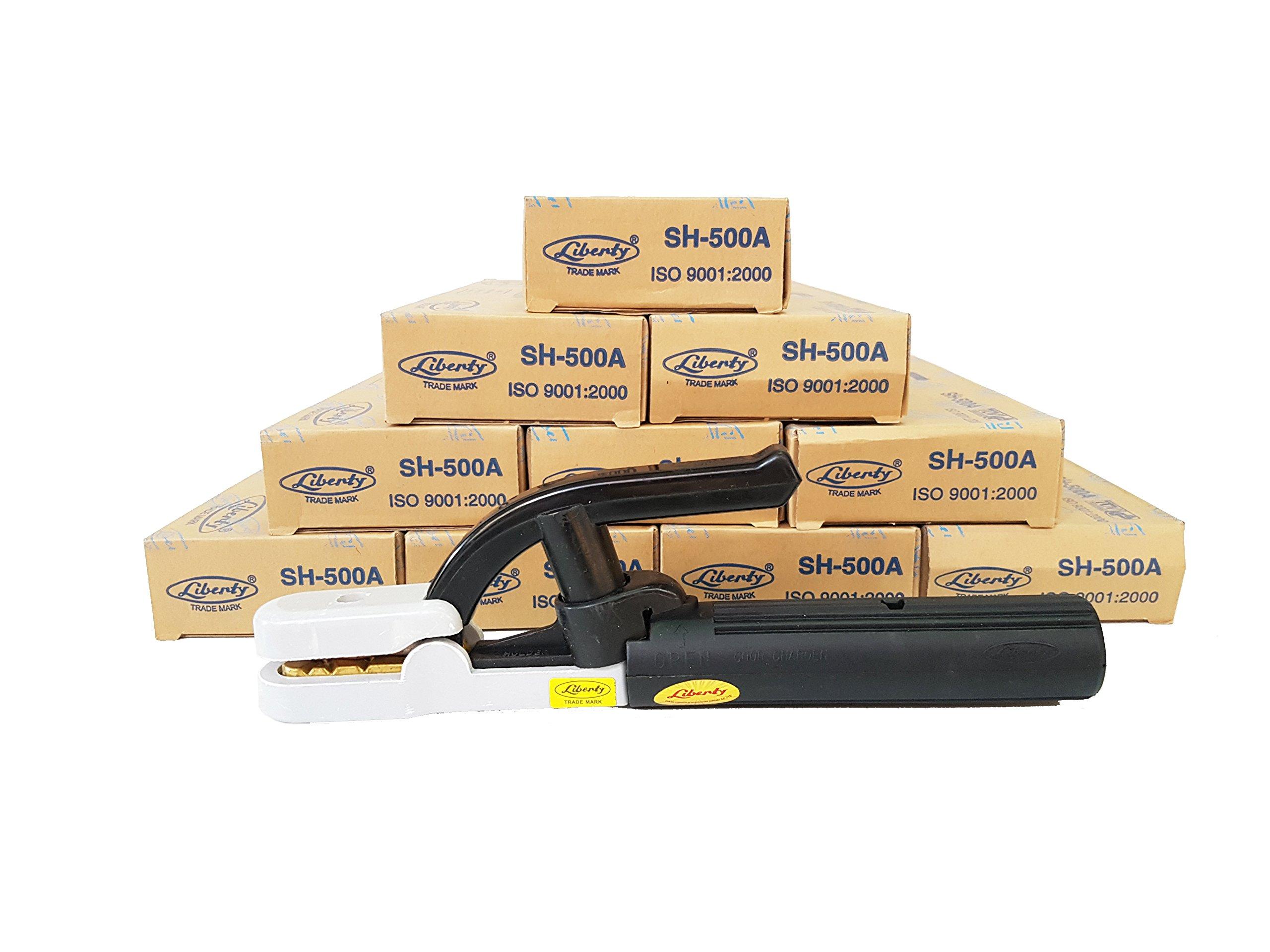 Prasertsteel LIBERTY VISE-GRIP Locking Welding Clamp Suntech 500A ( 10 Pack )