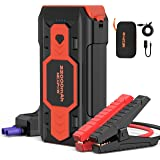 NEXPOW Battery Jump Starter 2500A 22000mAh Car Jump Starter (up to 8.0L Gas/8L Diesel Engines) 12V Car Battery Booster Pack w