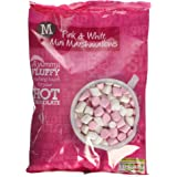 Morrisons Pink and White Mini Marshmallows, 180g