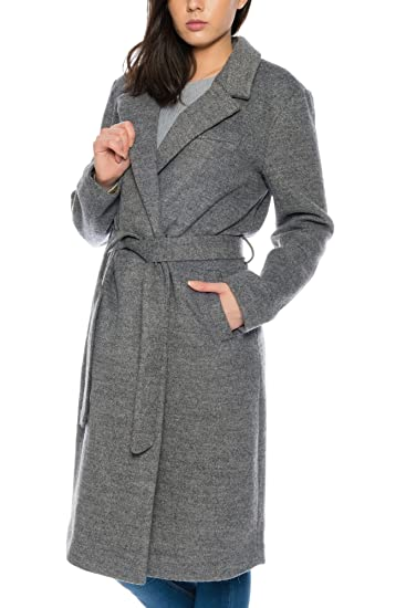 Grau Cappotto it Amazon Ichi Lana 48 10020 Donna RtxAxnHB