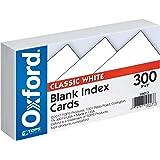 牛津索引卡 空白 3 X 5 白色