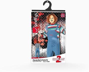 Smiffys - Disfraz de chucky para mujer, talla S (39965S): Smiffys ...