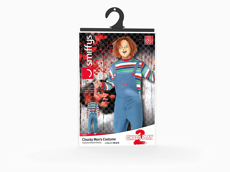 Smiffys - Disfraz de chucky para hombre, talla M (39965M): Smiffys: Amazon.es: Juguetes y juegos