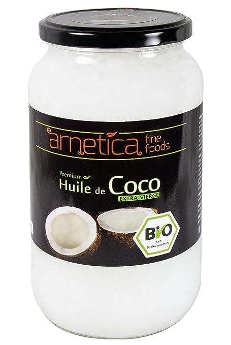 87 opinioni per 1000ml Olio di cocco extra vergine arnetica, 1L, biologico, puro, nativo,