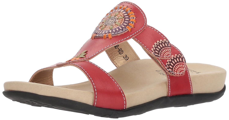 L'Artiste by Spring Step Women's Myrtle Sandals B079NRDMRK 36 M EU|Red