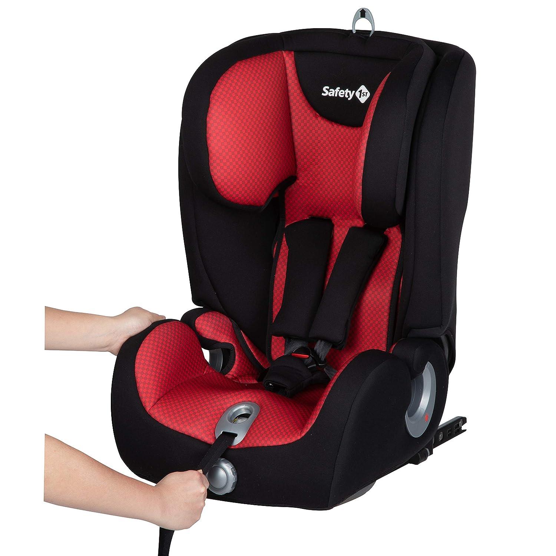 con Cuscino Riduttore Safety 1St 8514830000 Ever Fix Seggiolino Auto 9-36 Kg Isofix Gruppo 1//2//3 Colore Pixel Black per Bambini 9 Mesi-12 Anni