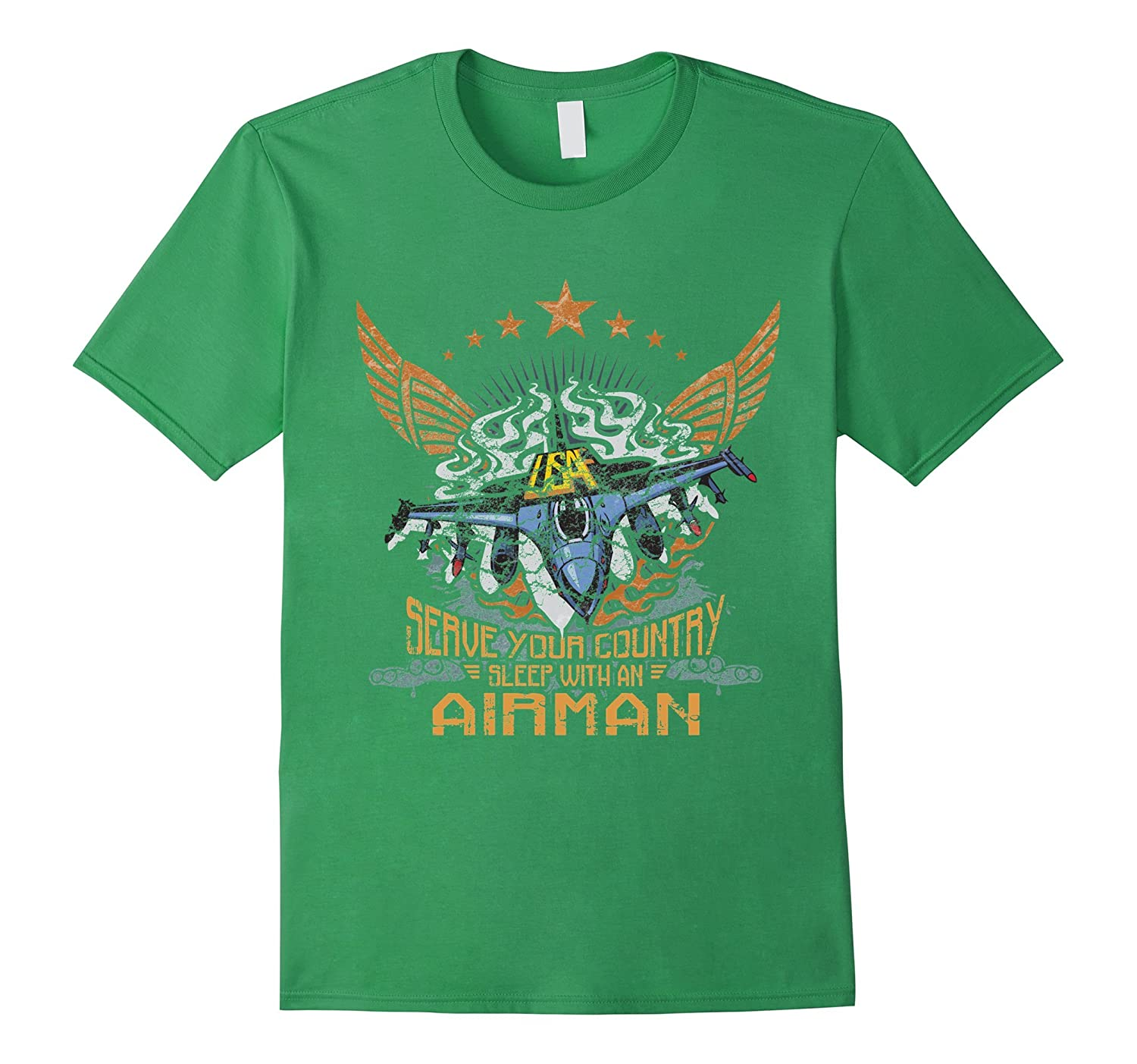 Airman T-shirt - Serve your country sleep with an airman-PL