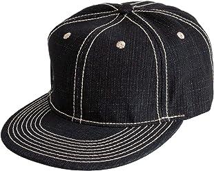 990e262b87902 Levine Hat Co Denim Baseball Cap Structured Buckle Back Adjustable (2+  Colors)