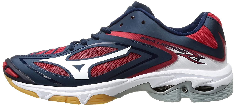 Mizuno Women's Wave B01N8VR0I4 Lightning Z3 Volleyball Shoe B01N8VR0I4 Wave 13 B(M) US|Navy/Red e988f4