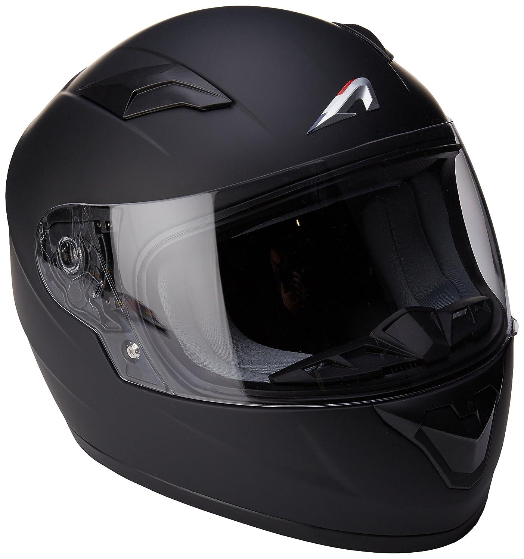 Astone Helmets gt2/km-mbkm Casco Moto Integrale GT Kid lucida Nero Lucido taglia M