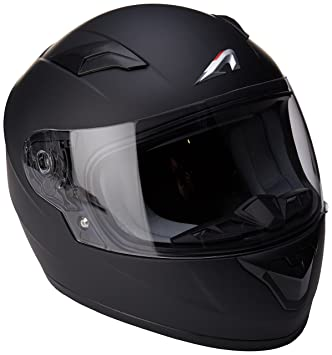 Astone Helmets gt2 km-mbkm casco Moto Integral GT Kid Gloss, Color Negro Brillante