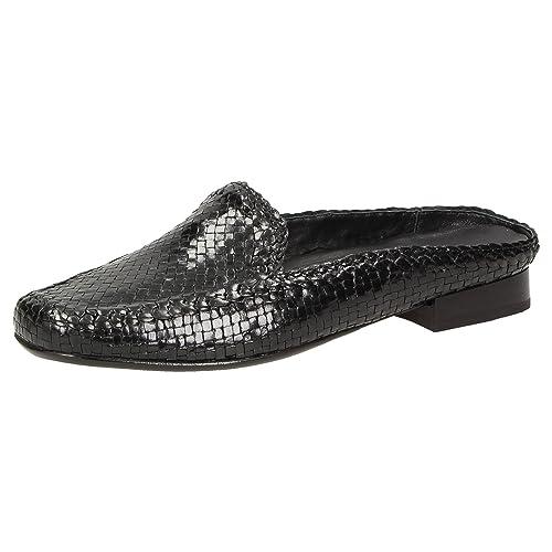 Sioux Mocasines de Piel Lisa Para Mujer, Color Negro, Talla 37.5 EU: Amazon.es: Zapatos y complementos