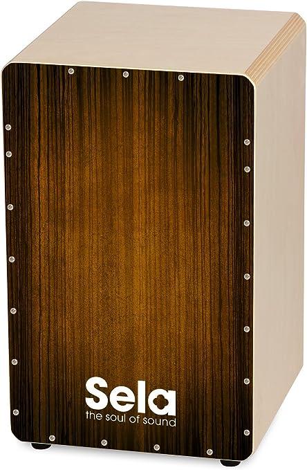Sela Varios - Cajón, color marrón, Estándar: Amazon.es: Instrumentos musicales