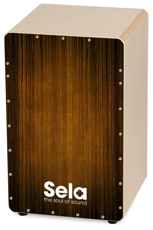 Sela SE 051 Varios Brown Snare Cajon, Standard,