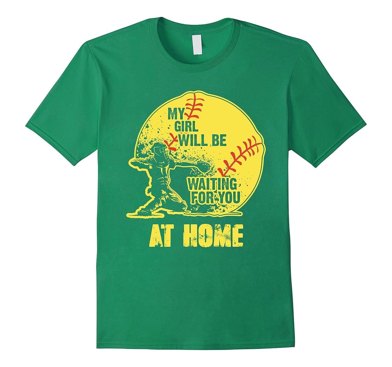 softball shirts - My girl - softball-RT