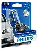 Philips WhiteVision Xenon-Effekt H8 Scheinwerferlampe 12360WHVB1, Einzelblister