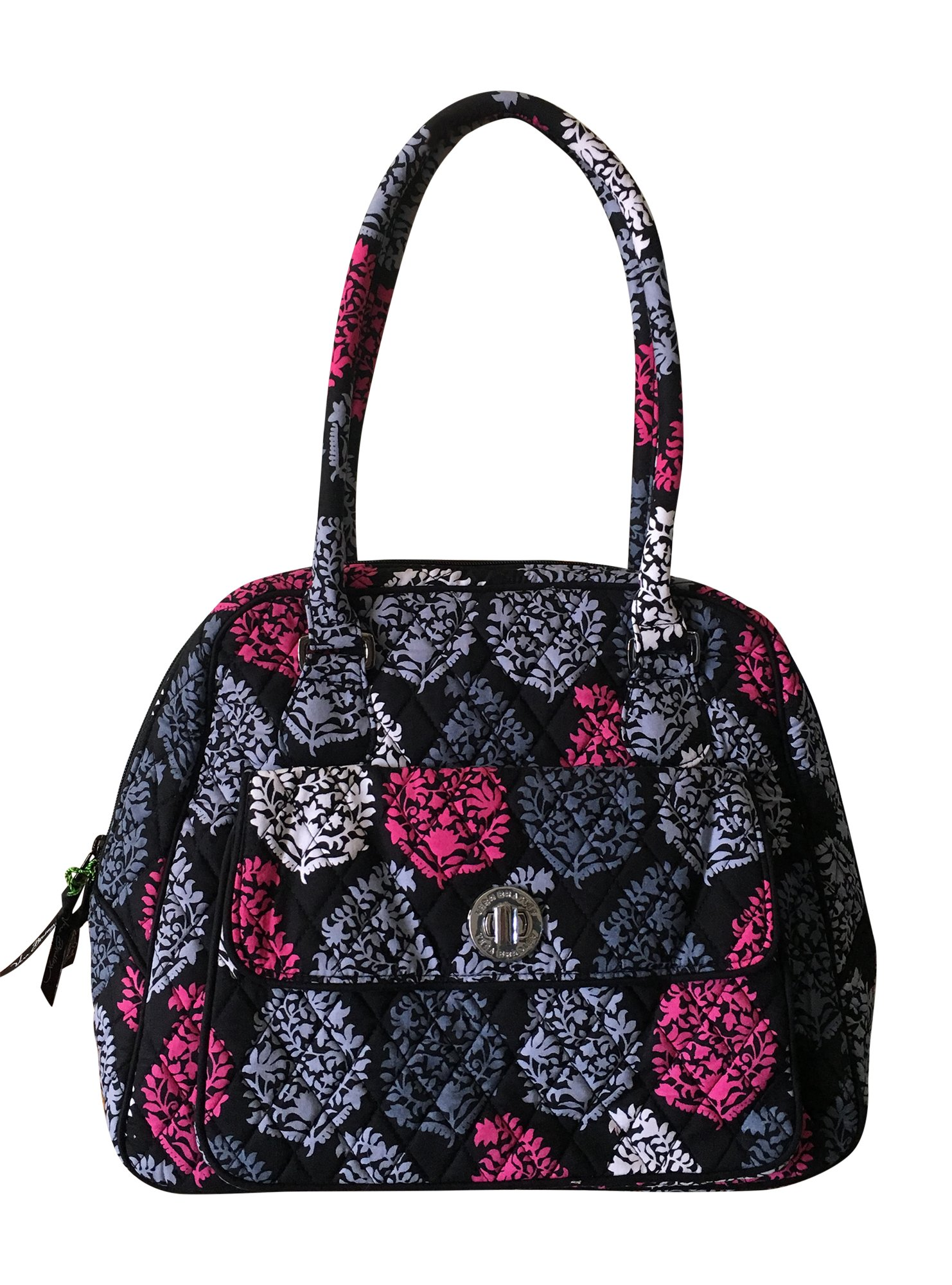 Vera Bradley Turnlock Satchel, Signature Cotton (Northern Lights)