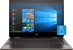 "HP Spectre x360 13-ap0013dx Convertible 13.3"" Full HD Touchscreen Laptop, Intel Core i7-8565U 1.8GHz, 8GB RAM, 256GB SSD, Windows 10 Home, Ash Silver - Refurbished by HP"