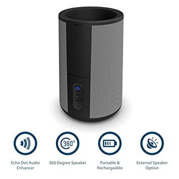 Hobson Amazon Alexa Echo Dot (Gen 1 and 2) 360 con bandeja de acoplamiento