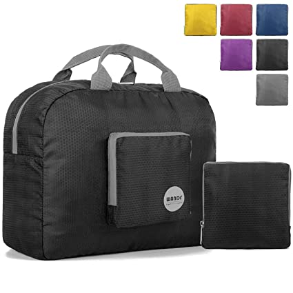 1e5f26fb0d7b 16 quot  Foldable Duffle Bag 20L for Travel Gym Sports Lightweight Luggage  Duffel