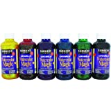 Sargent Art 22-9099 6 Count 8-Ounce Glitter Watercolor Magic Set, Assorted