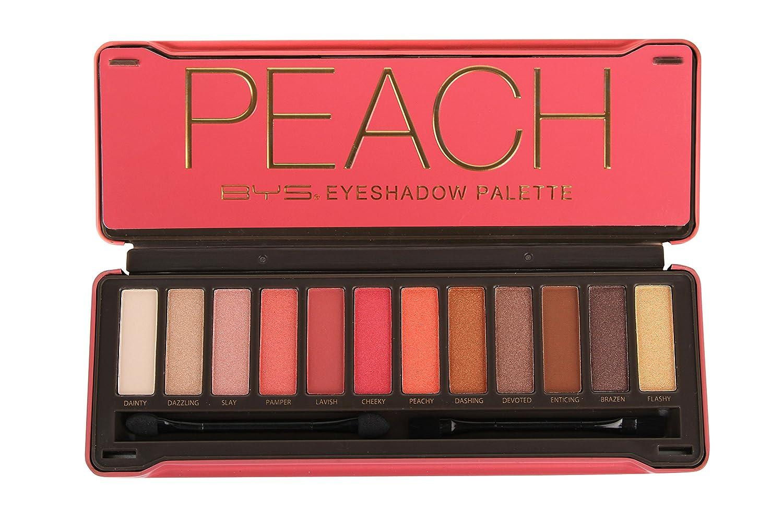 Eyeshadow Palette (12x Eyeshadow 2x Applicator) - Peach - 12g/0.42oz Bys