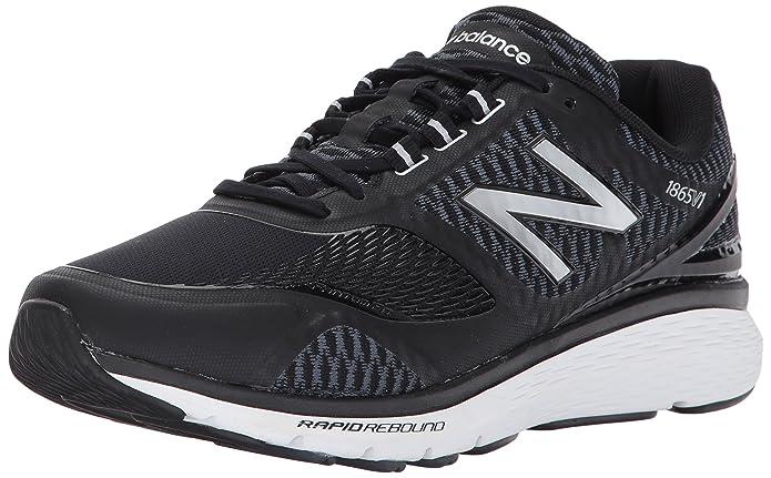 New Balance Herren MW1865V1 Walking Schuhe 43 EUR - Width 2E Black/Silver