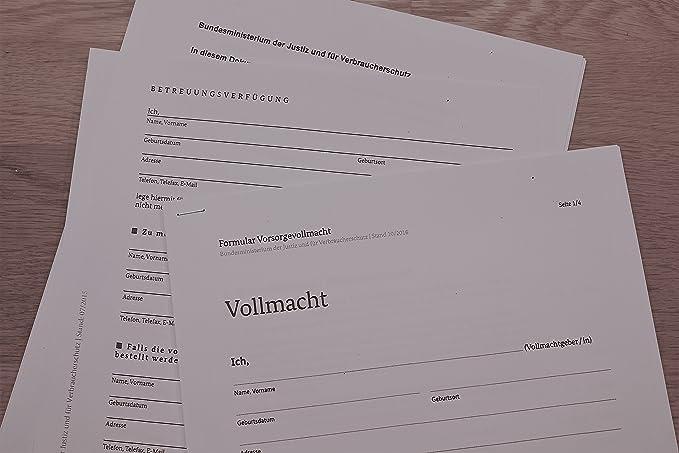 Formular vollmacht – bundesministerium der justiz und für verbraucherschutz