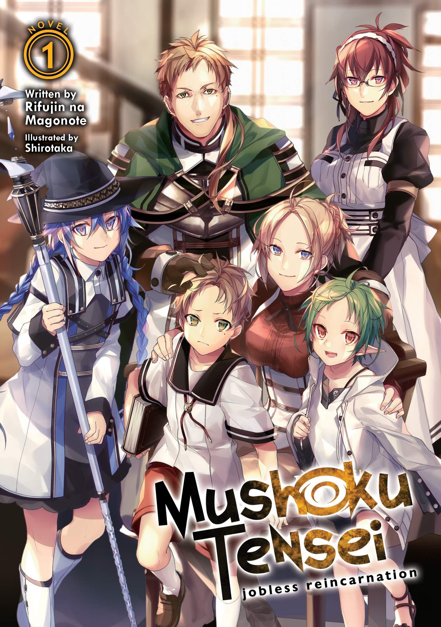 Amazon com: Mushoku Tensei: Jobless Reincarnation (Light