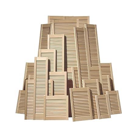 low priced 6876d 506f7 Clear Pine Open Louvre Internal Doors, 762 x 457mm (30x18in)