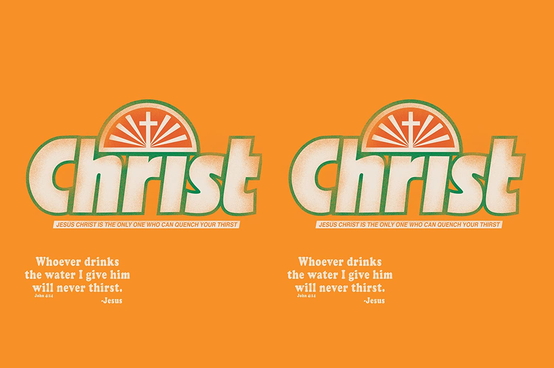 John 4:14 Sip N Go Stainless Steel Lined Travel Tumbler 16-Ounce Tree-Free Greetings sg24220 Christ Crush