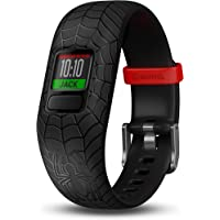 Garmin Vívofit Jr 2, Kids Fitness/Activity Tracker, 1-Year Battery Life, Spider-Man Club Bundle