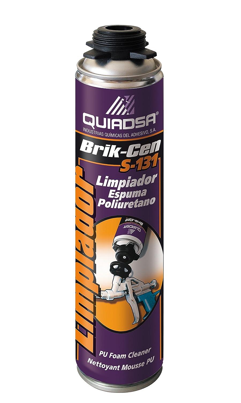 Quiadsa 53306001 Disolvente Limpiador para Espuma de Poliuretano, 500 ML: Amazon.es: Bricolaje y herramientas