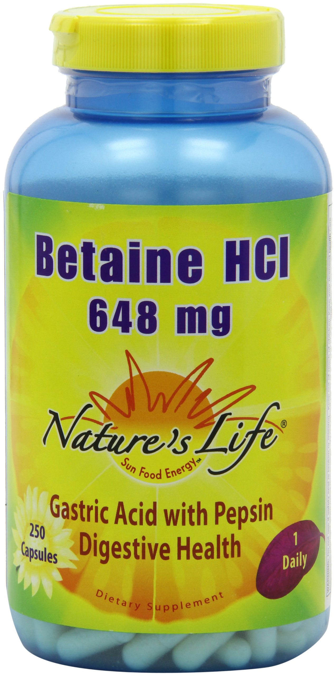 betaine hydrochloric acid hcl supplements