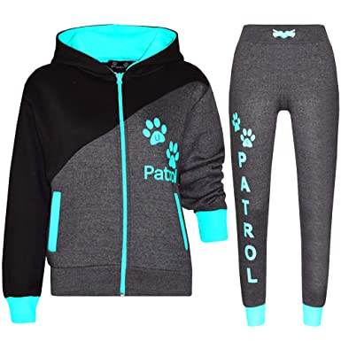 f57f7fce50 Kids Boys Tracksuits Girls Hoodie Hooded Top Bottom Sports Outfit ...