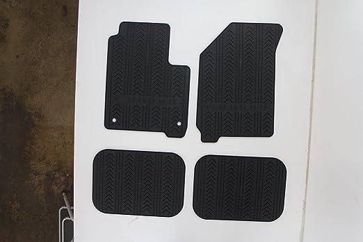 Nylon Carpet Black Coverking Custom Fit Floor Mats for Dodge Journey CFMBX1DG9444