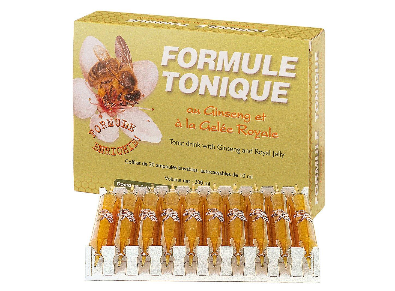 Domaine apicole de chezelles fórmula Tonique Au Ginseng y a la jalea real: Amazon.es: Salud y cuidado personal