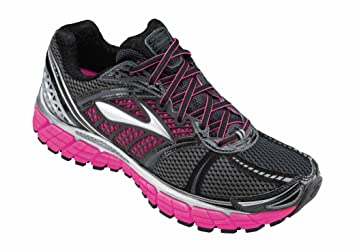 a35fa334cb9 Brooks TRANCE 12 Women s Running Shoes (White Silver Black Ombre Blue