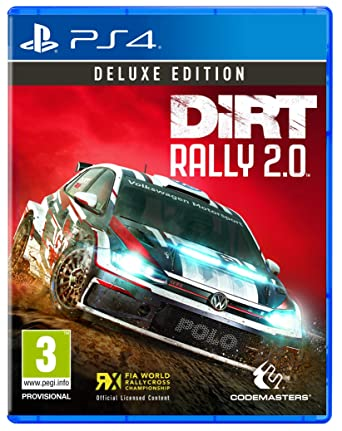 DiRT Rally 2 0 Deluxe Edition (PS4): Amazon co uk: PC