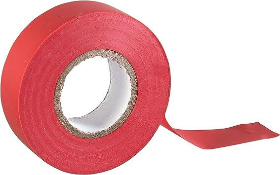 Gocableties - Cinta aislante de PVC (20 m x 19 mm, 2 rollos de cinta de alta calidad), blanco: Amazon.es: Bricolaje y herramientas