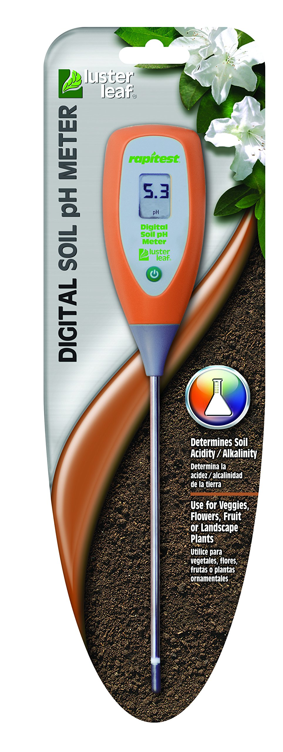 Luster Leaf 2956 Rapitest Digital Soil Ph Meter