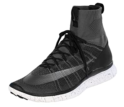 hot sale online d263c b8006 Amazon.com | NIKE Free Flyknit Mercurial CR7 805554-004  Grey/Black/White/Silver Men's Shoes (Size 13) | Fashion Sneakers