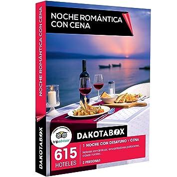DAKOTABOX - Caja Regalo - NOCHE ROMÁNTICA CON CENA - 615 hoteles románticos, palacetes y casas rurales en España, Francia, Italia y Portugal: Amazon.es: ...