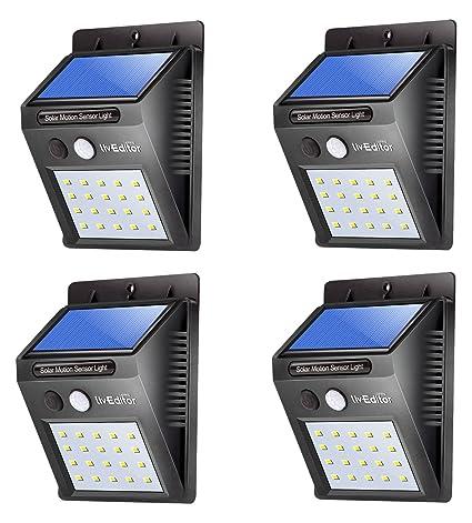 Liveditor outdoor solar lights super bright led motion sensor liveditor outdoor solar lightssuper bright led motion sensor lights with wide angle illumination aloadofball Gallery