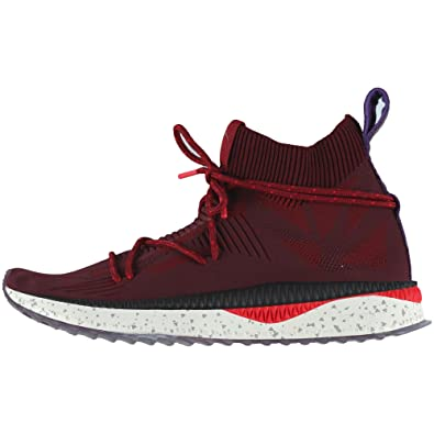 Puma Herren Tsugi Evoknit Sock Sneaker Racing Red Dahlia