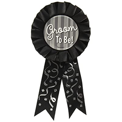 Groom to Be Award Ribbon, Party Favor: Toys & Games